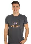 náhled - Vezeték nélkül férfi póló szürke