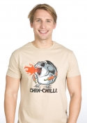 náhled - Chinchilli férfi póló barna
