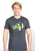 nézet - Fucking Robots férfi póló szürke