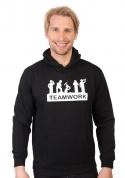 nézet - Csapatmunka férfi pulóver