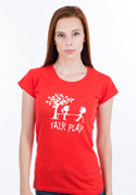 náhled - Fair play női póló