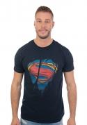 nézet - Superman Inside férfi póló kék