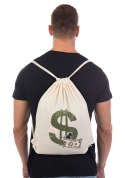 náhled - Dollár táska hátizsák natural