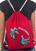 náhled - Brains hátizsák piros