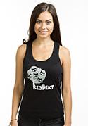 náhled - Tisztelet női ujjatlan póló