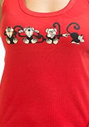 náhled - Majmok női ujjatlan póló