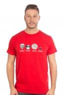 náhled - Trilobite férfi póló piros