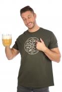 náhled - Alkoholos iránytű férfi póló zöld