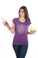 náhled - Alkoholos iránytű női póló