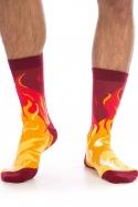 náhled - Lángoló lábak zokni