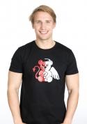 nézet - Angyal vagy ördög férfi póló