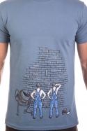náhled - Kőműves férfi póló kék