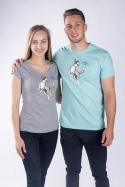 náhled - Repülő csészealj női póló