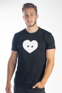 náhled - Szív férfi póló