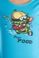 náhled - Fast food női póló