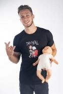 náhled - Dad metal férfi póló
