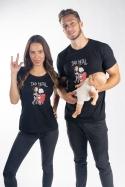 náhled - Dad metal női póló