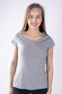 náhled - Női póló szürke
