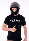 náhled - Bikers evolution férfi póló