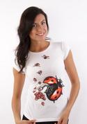 náhled - Ladybird Factory női póló fehér