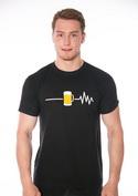 náhled - Beer help férfi póló