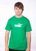 náhled - Coma férfi póló zöld