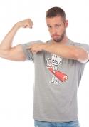náhled - Izmok férfi póló szürke