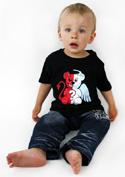 náhled - Angyal vagy ördög gyerek póló