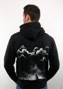 nézet - Nightmare férfi pulóver – hát