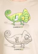 nézet - ChameleON ChameleOFF férfi póló barna
