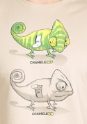 náhled - ChameleON ChameleOFF férfi póló barna