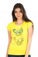 náhled - ChameleON ChameleOFF női póló sárga