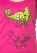 náhled - ChameleON ChameleOFF női ujjatlan póló fukszia