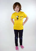 náhled - Vigyázz, melyik végét fogod gyerek póló
