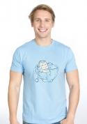 nézet - Lazítás férfi póló