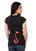 náhled - Fekete bárány női póló