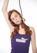 náhled - Coma női ujjatlan póló lila