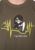 náhled - Isteni beavatkozás férfi póló khaki