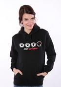 náhled - Fekete bárány női pulóver