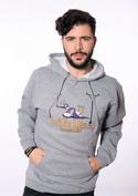 nézet - Vezeték nélkül férfi pulóver