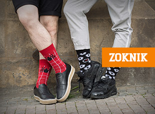 Egyedi zoknik humorral