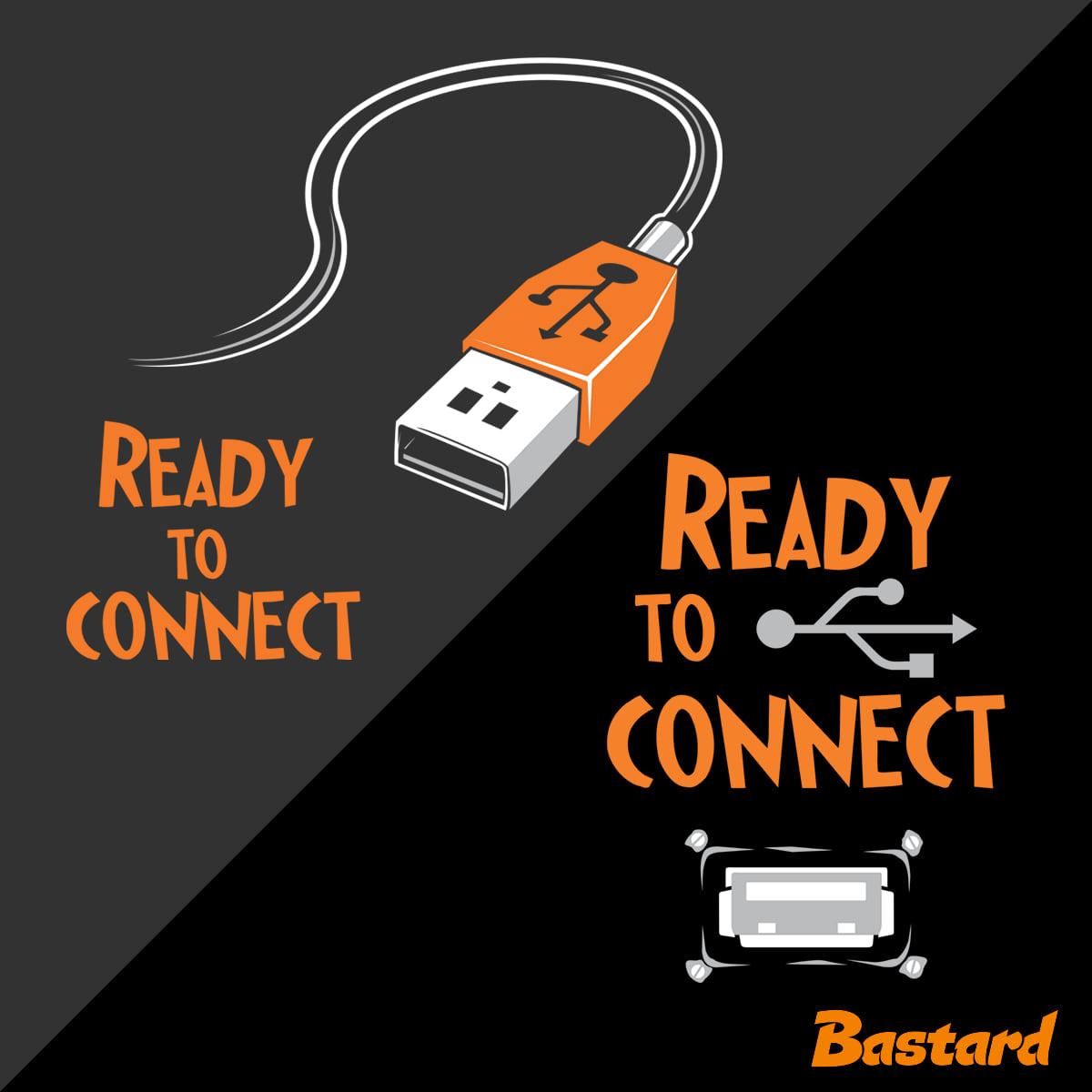 USB csatlakozás