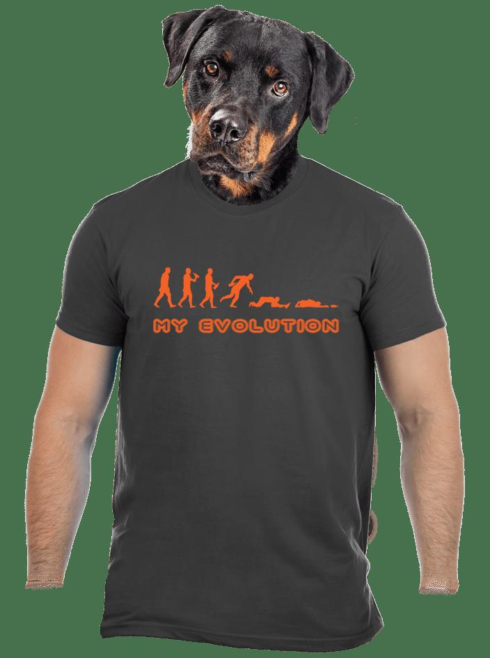 My Evolution férfi póló