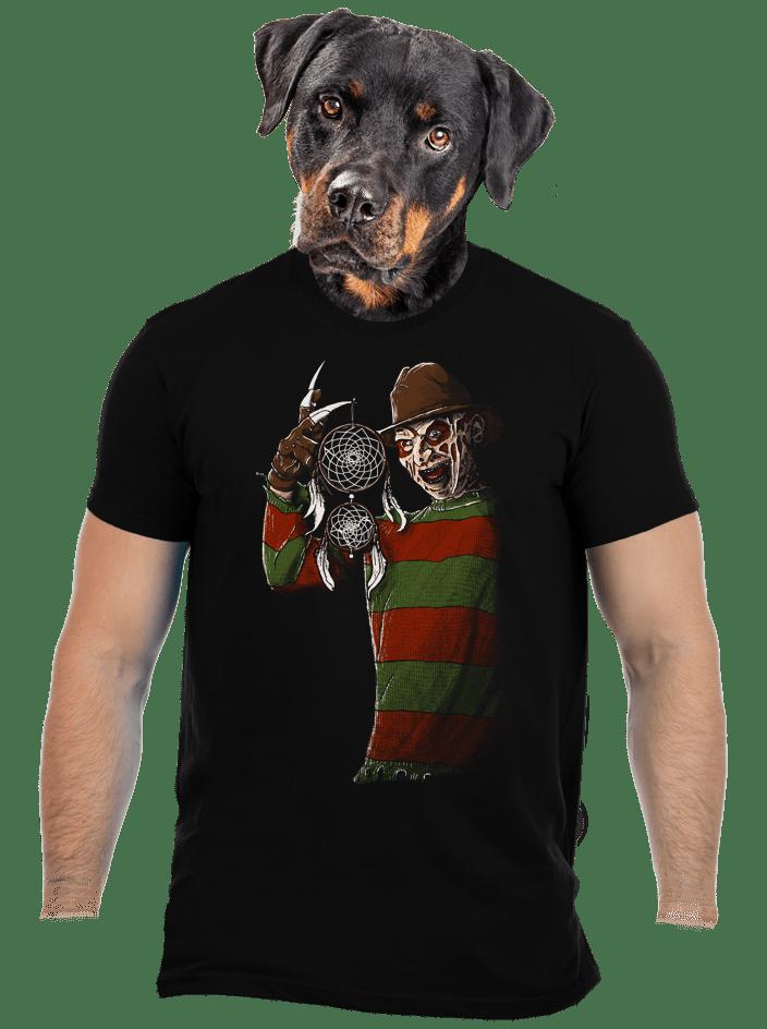 Freddy bosszúja férfi póló