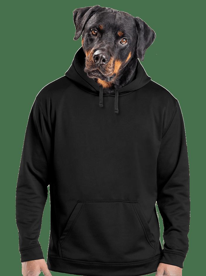 Férfi pulóver fekete