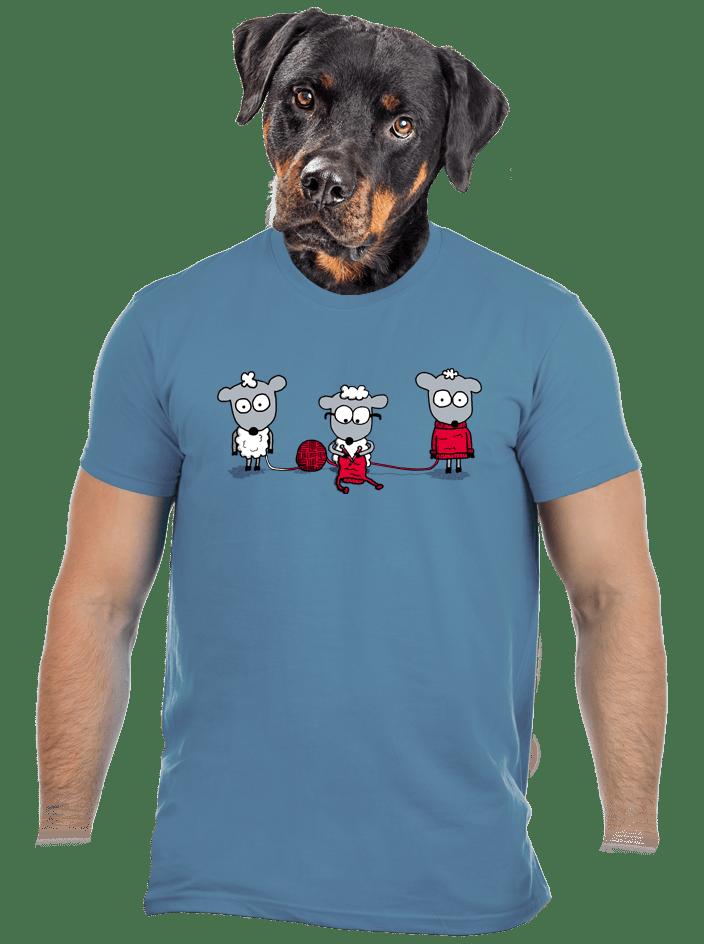 A gyapjú körforgása férfi póló