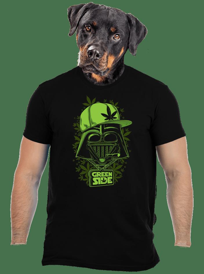 Green side férfi póló