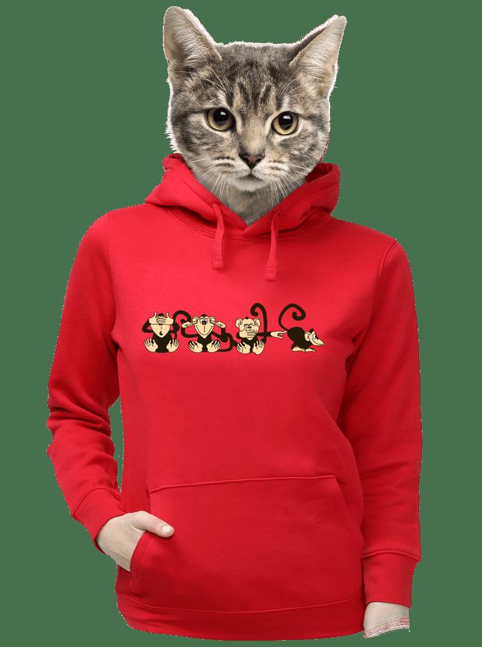 Majmok női pulóver