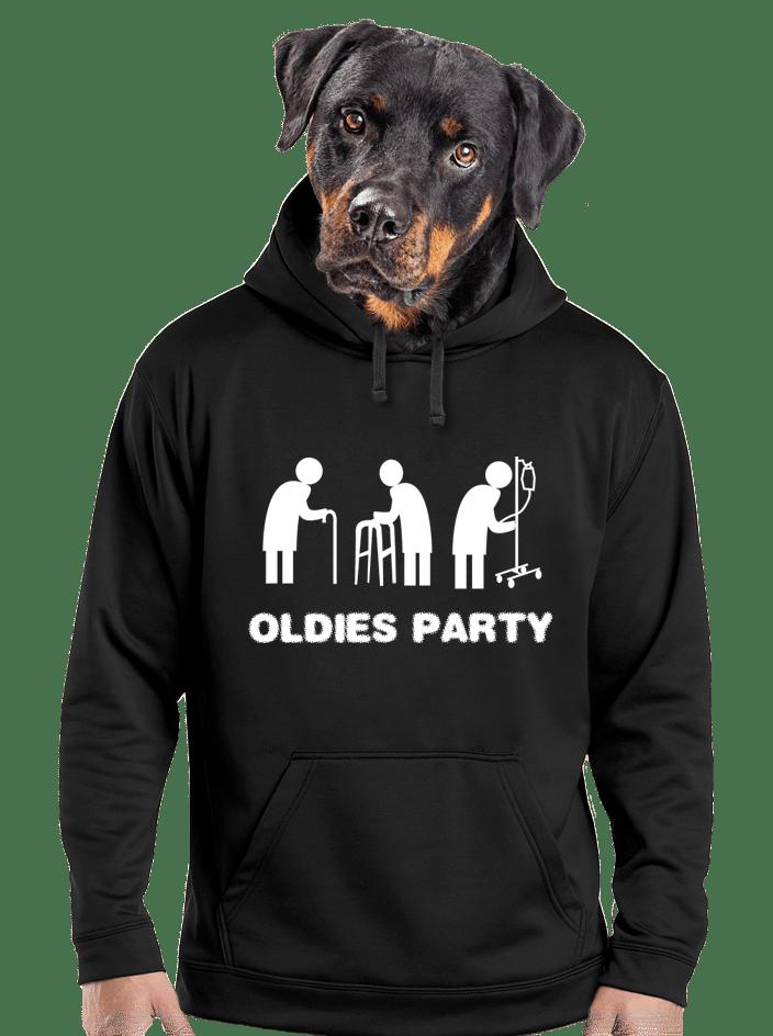 Oldies party férfi pulóver