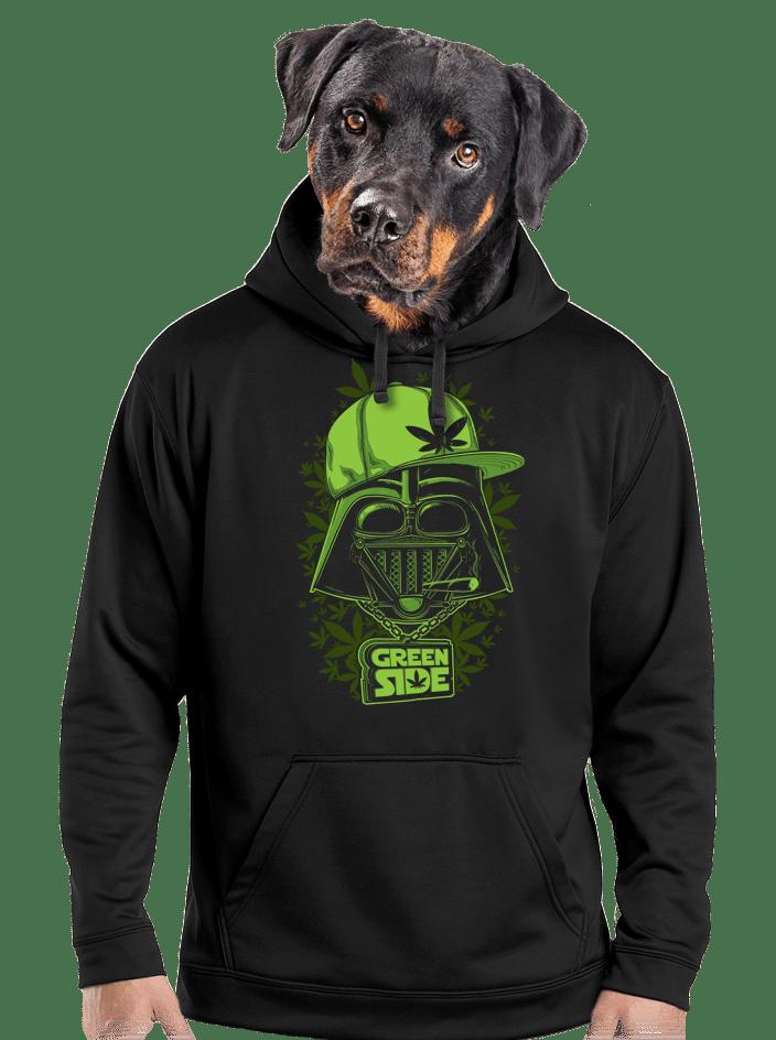 Green side férfi pulóver